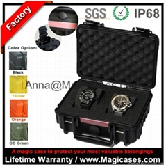China Waterproof Pelican Hard Plastic Case Watch Box Photography Equipment Case