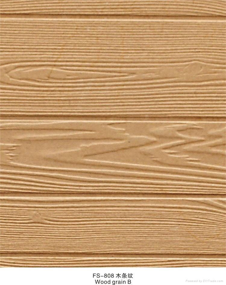 Fireproof Steel Wall Panels : Wholesale fs fireproof wallpaper d effect wood wall