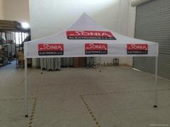 3*4.5m aluminum folding tent