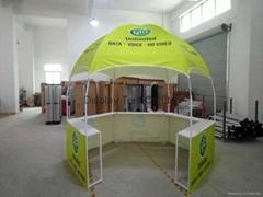 Hexgonal Kiosk booth tent