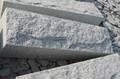 G341 light grey granite slabs curbstone wall stone 1