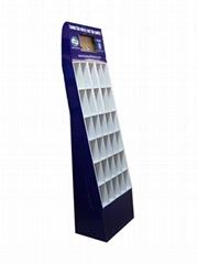 多层落地式纸货架 台式纸展示盒 (产品均为定制款)