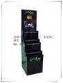 多层落地式纸货架 台式纸展示盒 (产品均为定制款) 3