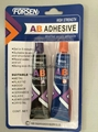 Two component super AB adhesive, two component acrylic adhesive