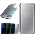Clear View Smart Cover Flip Leather