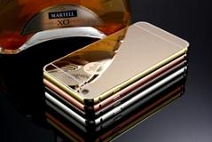 mirror aluminium bumper case for iPhone 6
