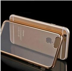 Luxury hot sale galvanized tpu phone case for iPhone 6s plus
