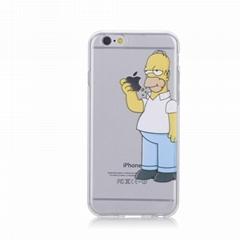 Simpson tpu phone case hot sale for iPhone 5c