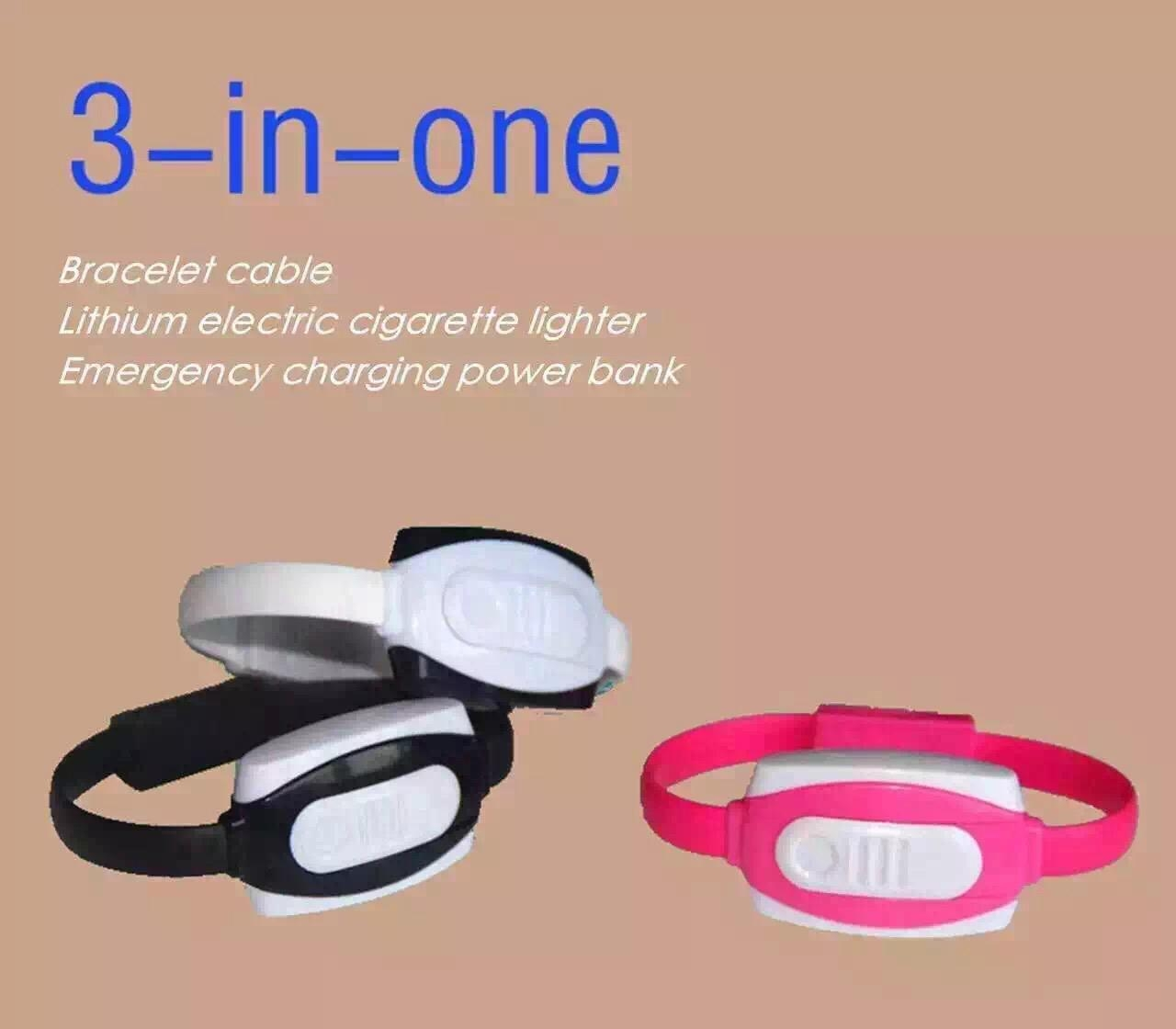 new 3 in 1 bracelet cable for iPhone or Samsung 1