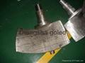 机加工&不锈钢曲面泵叶