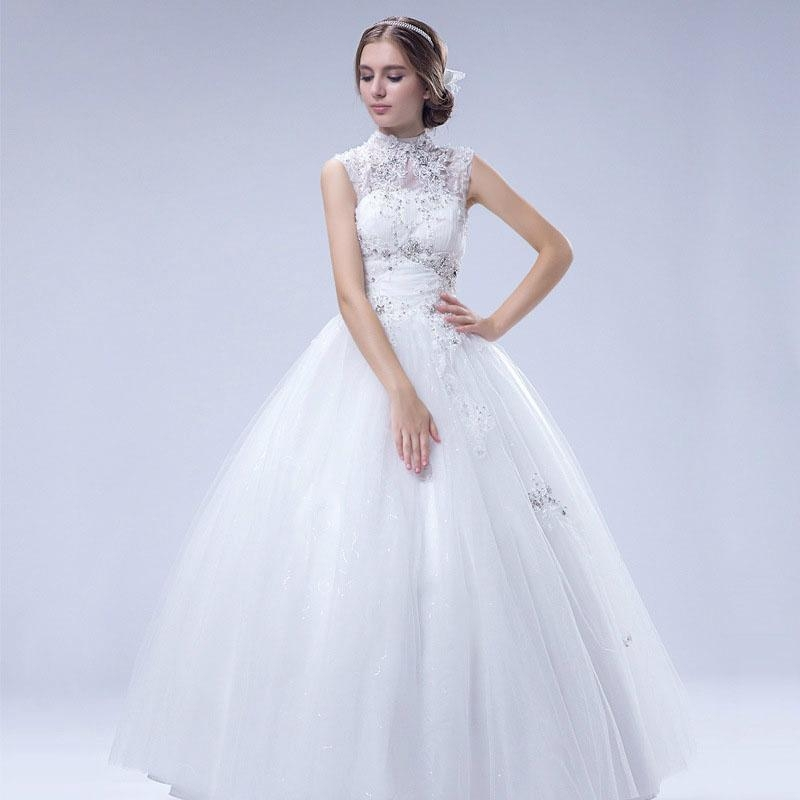 Luxury sleeveless shoulder beaded lace tutu lavish wedding dresses 37 1