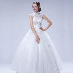 Luxury sleeveless shoulder beaded lace tutu lavish wedding dresses 37