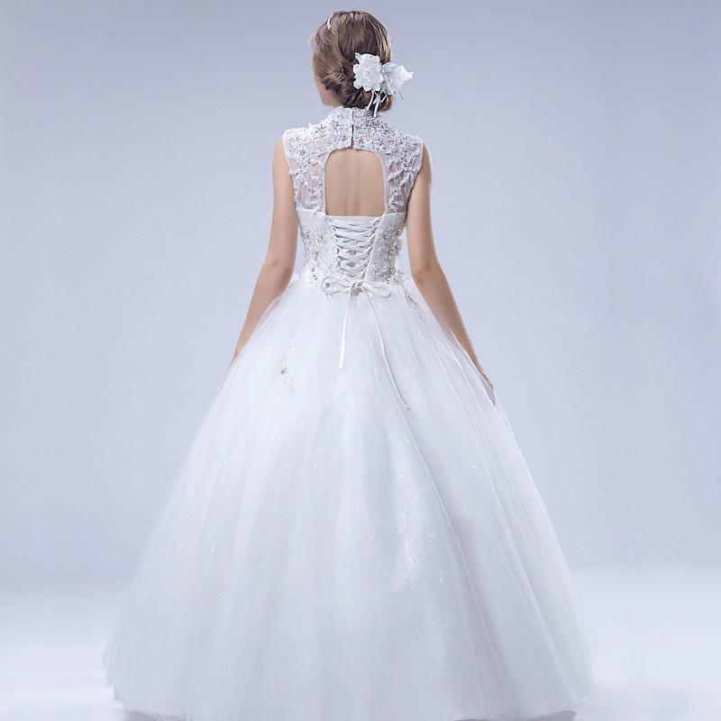 Luxury sleeveless shoulder beaded lace tutu lavish wedding dresses 37 4