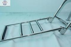 4 Steps Telescoping Stainless Steel Boat Ladder