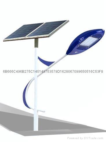 武汉欧尔6米30瓦太阳能路灯 4