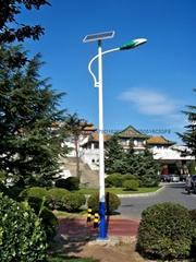 武汉欧尔6米30瓦太阳能路灯