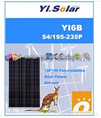 200W Solar Panel Poly cr