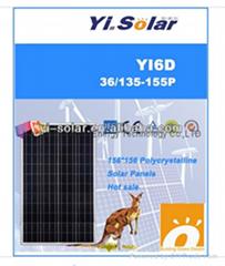 150W Solar Panel Poly cr
