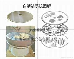 振動篩新型組合-自動清潔型篩網
