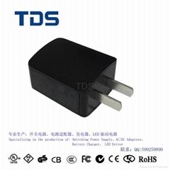 5V1A 中规USB充电器 CCC认证