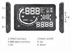 Universal Car Trip Computer V-checker H301 HUD Speed Display Car Hud Display