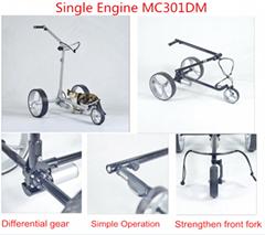 Aluminium electric Golf trolley