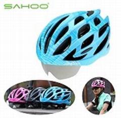 types of bicycle helmets SH-Cycling Helmet+ 3 Lens