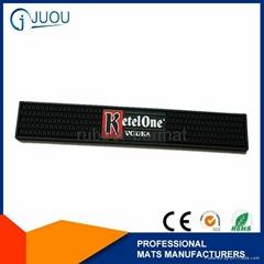Attractive custom rubber bar mat