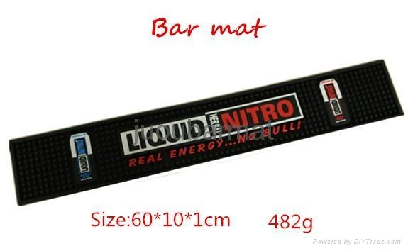 Customized logo pvc bar runner 2