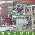 Rubber belt track shot blast cleaning machine 1