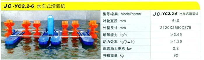 魚塘漁業蝦塘水產養殖增氧機 3