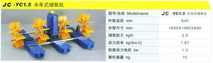 380V 220V 水車式增氧機 5