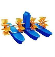 廠家新款國標100%銅線魚塘六葉輪水車式增氧機 2.2KW