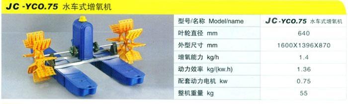 廠家新款國標100%銅線魚塘六葉輪水車式增氧機 2.2KW 5