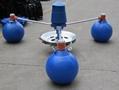 魚塘三浮球葉輪式增氧機
