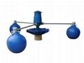 魚塘三浮球葉輪式增氧機 2