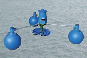魚塘三浮球葉輪式增氧機 3