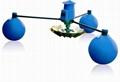 魚塘三浮球葉輪式增氧機 4