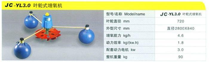 魚塘三浮球葉輪式增氧機 5