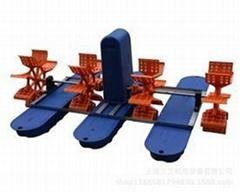 厂家直销水产养殖设备水车式增氧机