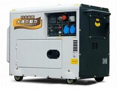 15KW永磁静音柴油发电机