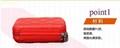 時尚便攜式拉鍊式多功能手包零錢收納盒 3
