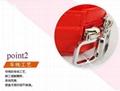 時尚便攜式拉鍊式多功能手包零錢收納盒 4