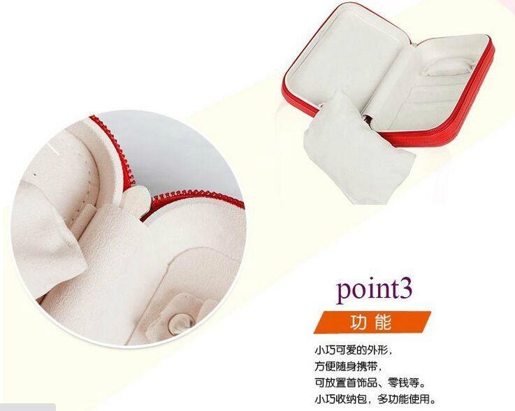 時尚便攜式拉鍊式多功能手包零錢收納盒 5