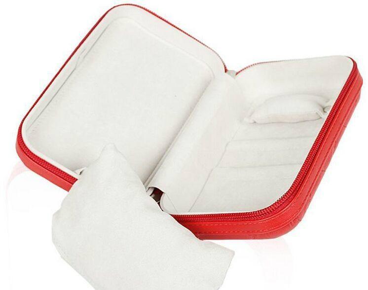 時尚便攜式拉鍊式多功能手包零錢收納盒 2