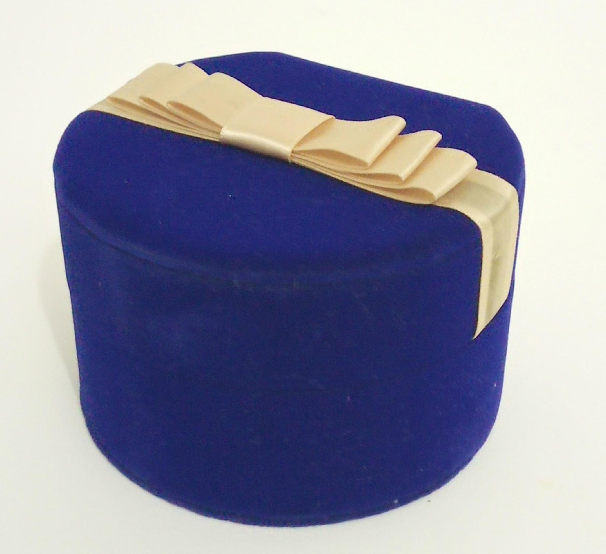 圓形套裝進口長毛絨珠寶盒禮品盒 5