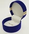 圓形套裝進口長毛絨珠寶盒禮品盒 2