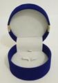 圓形套裝進口長毛絨珠寶盒禮品盒 3