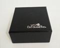 韓式 高檔LED拉絲紋珠寶盒禮品盒 5