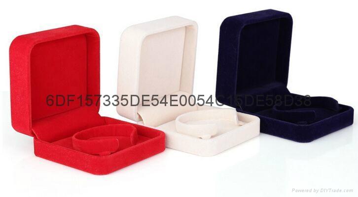 高檔絨布珠寶首飾盒 3